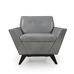 Wegner Leather Contemporary Armchair