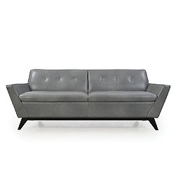 Wegner Leather Contemporary Sofa