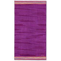 Liam Purple Beach Towel