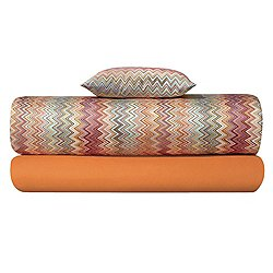 John Orange Pillow Case Set