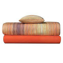 Jill Orange Pillow Case Set