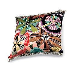 Passiflora Coral Pillow 16x16