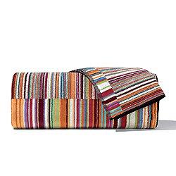 Jazz Orange Bath Towel 5 Piece Set
