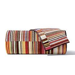 Jazz Red Bath Towel 5 Piece Set