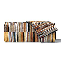 Jazz Brown Bath Towel 5 Piece Set