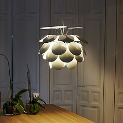 Discoco Pendant (White/20 Inch Diameter) - OPEN BOX RETURN
