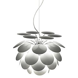 Discoco Pendant Light (White/14 Inch Diameter) - OPEN BOX RETURN