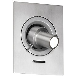 Ledcompass RSC Wall Sconce (Silver Grey) - OPEN BOX RETURN