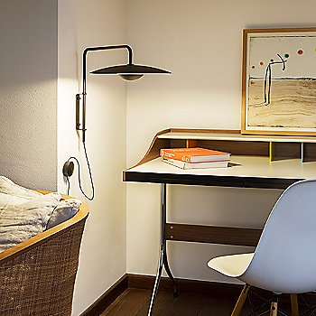 Wenge / Plug-In / in use next to desk