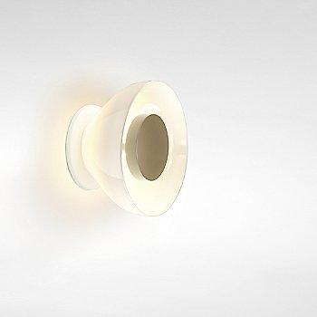 White backplate / opal white glass