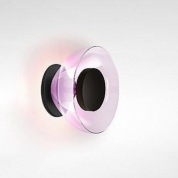 Black backplate / violet glass