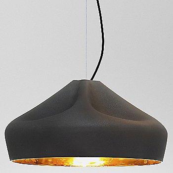 Black Finish with Gold Interior