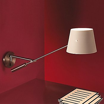 Libra A Wall Light, in use