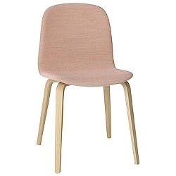 Visu Chair, Wood Based - Upholstered (Rose/Oak/Steelcut Trio 515) - OPEN BOX RETURN