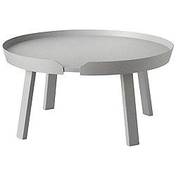 Around Coffee Table by Muuto (Grey) - OPEN BOX RETURN