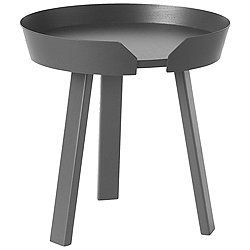 Around Side Table by Muuto (Anthracite) - OPEN BOX RETURN