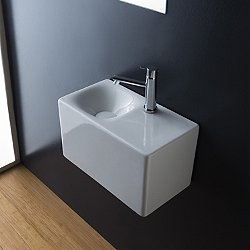 Scarabeo Wall Mounted Sink 1522