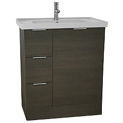 Arcom Three Drawer Vanity Cabinet with Sink