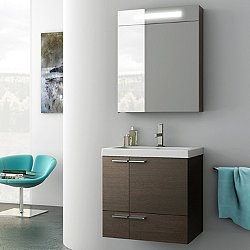 New Space Vanity Set with Medicine Cabinet