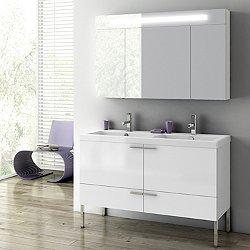 New Space Floor Standing Vanity Set 47 in
