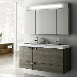 New Space Wall Mounted Vanity Set 47 in