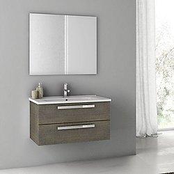 Dadila 33 Inch Vanity with Mirror