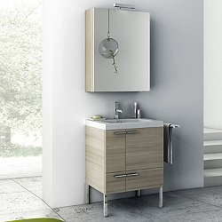 New Space 23 Inch Wall Mounted Vanity