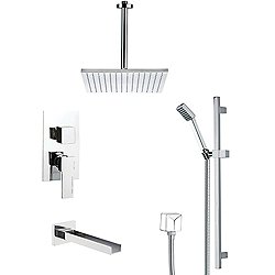 Galiano Tub and Shower Faucet Set TSR9097
