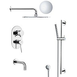 Galiano Tub and Shower Faucet Set TSR9124
