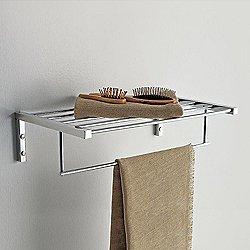 Eden Bathroom Shelf and Towel Bar