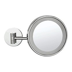 Glimmer LED Wall-Mounted Round Makeup Mirror AR7704