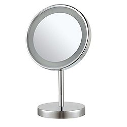 Glimmer LED Light Free Standing Makeup Mirror AR7711