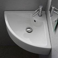 Square Corner Sink