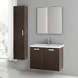 City Play 30 Inch Wall Mounted Vanity Set CP20