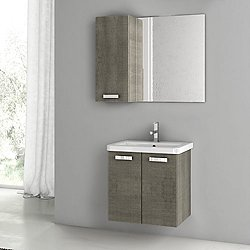City Play 22 Inch Wall Mounted Vanity Set CP29