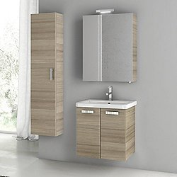 City Play 22 Inch Wall Mounted Vanity Set CP30