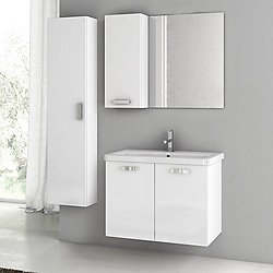 City Play 30 Inch Wall Mounted Vanity Set CP51
