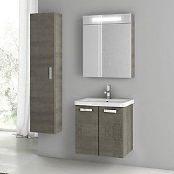 City Play 22 Inch Wall Mounted Vanity Set CP28