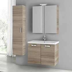 City Play 30 Inch Wall Mounted Vanity Set CP52
