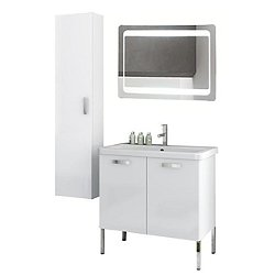 City Play 30 Inch Floor Standing Vanity Set CP85
