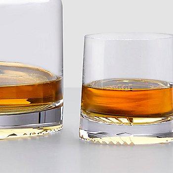 Alba Set of 2 High Ball Glasses with Alba Set of 2 Whisky Glasses