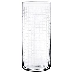 Finesse Grid High Ball Glass Set of 4