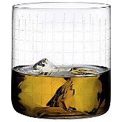 Finesse Grid Whisky DOF Glass Set of 4