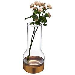 Contour Tall Copper Vase