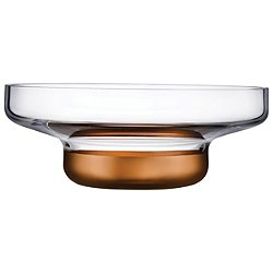 Contour Copper Centerpiece Bowl