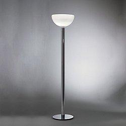 AM2C Floor Lamp (Smoke Grey w/ Stained Black Oak) - OPEN BOX
