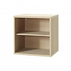 Neo 731 Wooden Shelf Module Storage with Doors