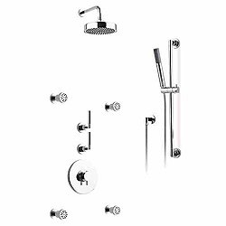 Taron Collection Relaxation-Massage Shower System Combo