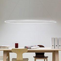 Ellisse LED Major Pendant Light (White/Downlight) - OPEN BOX RETURN
