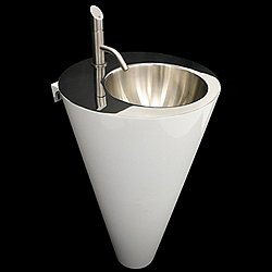 Metropolis Round Small Washbasin